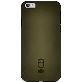 ullu Cell Phone Case for Apple iPhone 6 - Retail Packaging - Olive