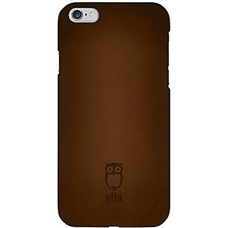 ullu Cell Phone Case for Apple iPhone 6 - Retail Packaging - mil k Chocolate