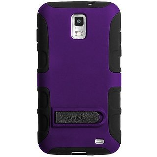Seidio CSK3SSSKYK-PR DILEX Case with Kickstand for use with Samsung Skyrocket - Amethyst