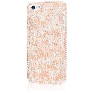 EMPIRE GLITZ Slim-Fit Case for iPhone 5C - Retail Packaging - Pink Pearlescence