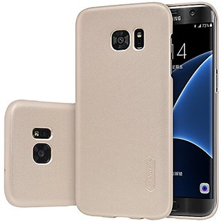 Samsung Galaxy S7 Edge (Not for S7) Case Nillkin Frosted Shield Matte Plastic Slim Fit Case Cover Shell (with Screen pro