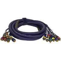 Pyle-Pro PPSN825 20 Ft. 8 Channel RCA Male To RCA Male Snake Cable