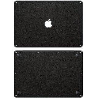 XGear EXO Skin Protective Vinyl Skin for 15-Inch Apple MacBook Pro - Black Leather (MB15-EXO-LBK)