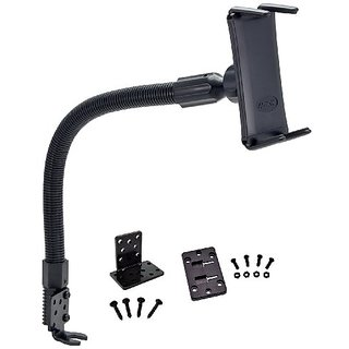 Arkon Seat Rail or Floor Car Truck Mount with 18 in Gooseneck for Samsung Galaxy S6 S5 S4 Galaxy Note 4 3 Galaxy Tab Pro