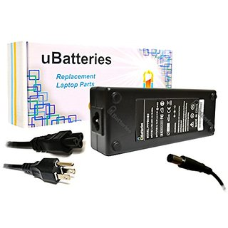 UBatteries Laptop AC Adapter Charger HPCQ40-129AU CQ40-129TU CQ40-130TU CQ40-131TU CQ40-132TU CQ40-134TU CQ40-135TU CQ40