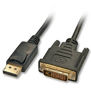 LINDY 41490 1m Display Port to DVI-D Cable
