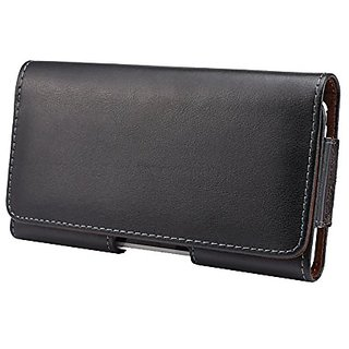 Yuzihan New Horizontal Genuine Leather Belt Clip Holster Holder Pouch Case Cover for Samsung Galaxy S7 Edge