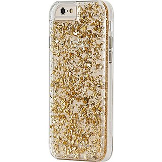 Case-Mate iPhone 6 Karat - Gold/Clear w/ Clear Bumper