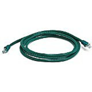 Monoprice 7FT 24AWG Cat6 550MHz UTP Ethernet Bare Copper Network Cable - Green