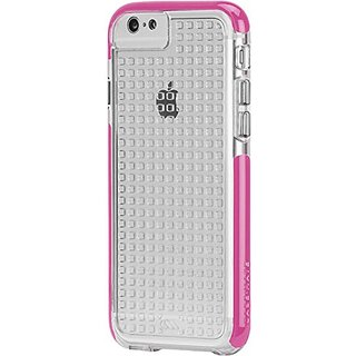 Case-Mate iPhone 6 Tough Air - Clear/Shocking Pink