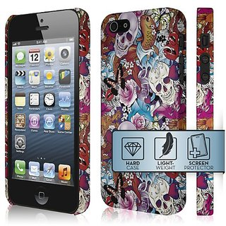 Empire Signature Series Slim-Fit Case for Apple iPhone 5 / 5S - Retail Packaging - Tattoo Chaos