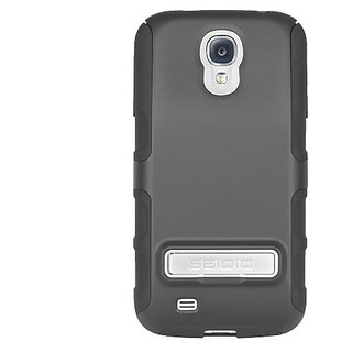 Seidio CSK3SSGS4KX-BK DILEX Extended Case with Metal Kickstand for use with Seidio Innocell 4500mAh Batteries for Samsun