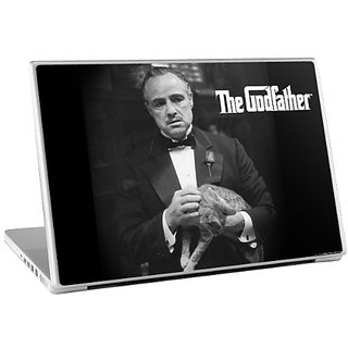 Zing Revolution The Godfather Premium Vinyl Adhesive Skin for 15-Inch Laptop (ms-gdfr20011)
