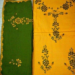 Phulkari Dress Material