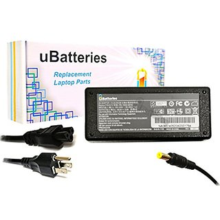 UBatteries Laptop AC Adapter Charger Compaq Presario V5206OM V5206TU V5207NR V5209US V5210TU V5210US V5211TU V5213TU V52