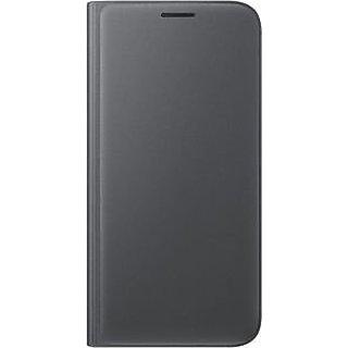 Genuine Samsung Flip Wallet Cover Case (EF-WG930PBEGWW) for Samsung Galaxy S7 (SM-G930) - Black