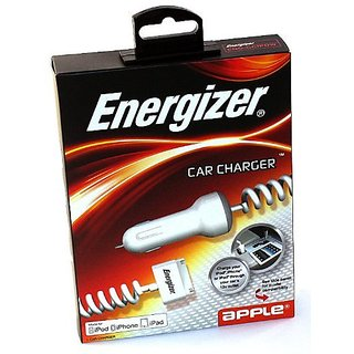 Energizer 12V Car Charger iPad iPod Touch 4/3/2 Nano iPhone 4S/4/3GS ENG-CCIPDB