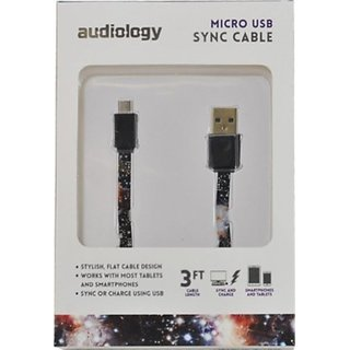 AUDIOLOGY USB Sync Cable for Tablets and Smartphones (AU-USBFC-NU)