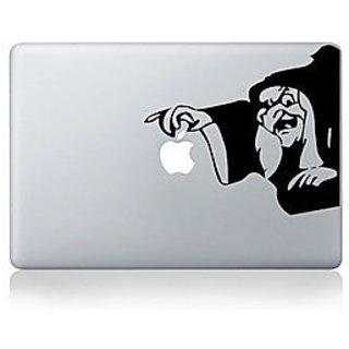 Witch Apple Macbook Vinyl Sticker Laptop Skin