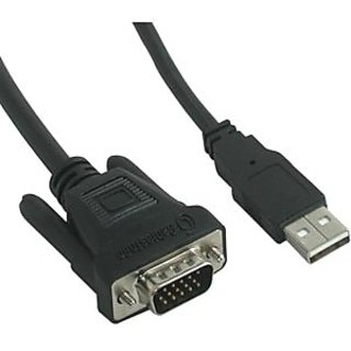 C2G / Cables to Go - 38058 - 10ft M1 Male to HD15 & USB Male Cable