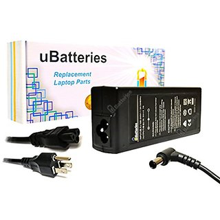 UBatteries Laptop AC Adapter Charger Sony VAIO VGN-SZ740EC VGN-SZ740ED VGN-SZ740EE VGN-SZ740EZ VGN-SZ740N VGN-SZ740N1 VG