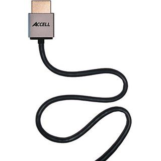 Accell B145C-007B Pro Ultra-Thin 6.6-Feet High Speed HDMI Round Cable with Ethernet