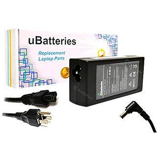UBatteries Laptop AC Adapter Charger Sony VAIO VPCEA36FX/T VPCEA36FX/V VPCEA36FX/W VPCEA36FX/WI VPCEA37FX VPCEA37FX/B VP