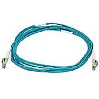 Monoprice 106387 3-Meters LC/LC Multi Mode Duplex 10GB Fiber Optic Cable - Aqua