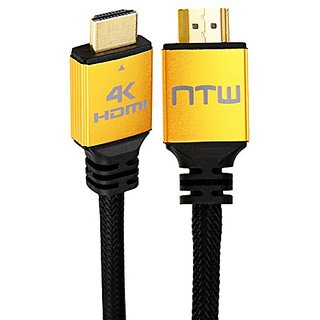 NTW NHDMI2P-006P 6 Ultra HD PURE PRO 4K High Speed HDMI Cable Offers 4X The Clarity