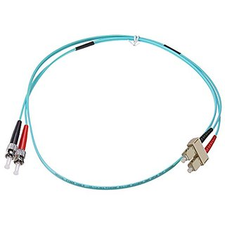 NTW NL-ST/SC-0340R Nonconductive Riser Fiber Optic Jumper Cable