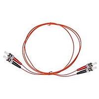 NTW NL-ST/ST-06MD5R ST/ST Multimode Duplex 50/125 Optical Fiber Nonconductive Riser Jumper Cable OM2