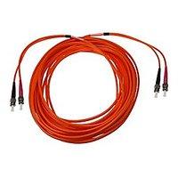 NTW NL-ST/ST-33MD5R ST/ST Multimode Duplex 50/125 Optical Fiber Nonconductive Riser Jumper Cable OM2
