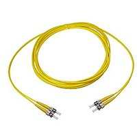 NTW NL-ST/ST-15SDR ST/ST Singlemode Duplex 9/125 Optical Fiber Nonconductive Riser Jumper Cable OS1