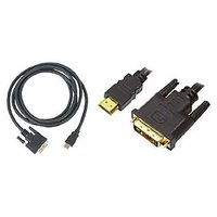 Pyle Home PHDMDVI6 High Definition HDMI Male To DVI Male Video Cable (6 Ft.)