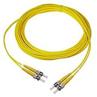 NTW NL-ST/ST-33SDR ST/ST Singlemode Duplex 9/125 Optical Fiber Nonconductive Riser Jumper Cable OS1