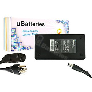 UBatteries Laptop AC Adapter Charger Dell Alienware M17X R2 330-5829 ON3834 0N3834 R940P OW7758 0W7758 P18G KFY89 0PH298