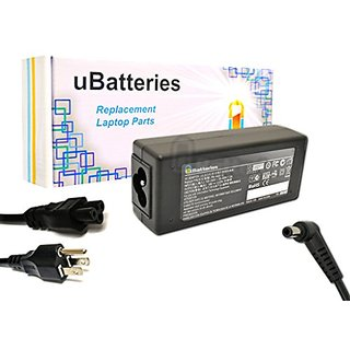 UBatteries Laptop AC Adapter Charger Toshiba Satellite E205-S1980 E305-005 E305-006 E305-00E E305-S1990X E305-S1995 E45T