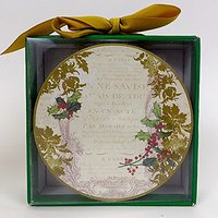 Ideal Home Range Holly Collage Christmas Coasters Set Of 12 Gift Boxed
