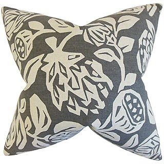 The Pillow Collection Izzy Floral Pillow, 20