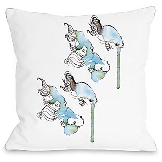 Bentin Home Decor Goldfish Throw Pillow w/Zipper by Judit Garcia Talvera, 16
