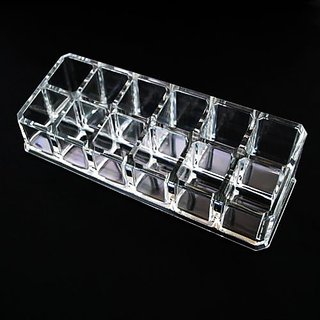 JOVANA Luxury Acrylic Cosmetic Organizer 12 Lipstick Holder