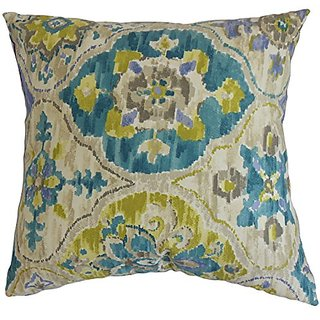 The Pillow Collection Vina Floral Pillow, 20