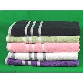 Mainstays Basic Bath Towel - Black-White