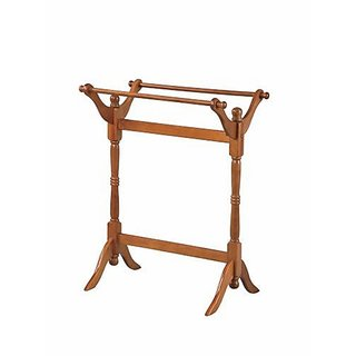 Powell Oak Blanket/Quilt Rack