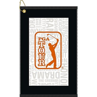Devant Sport Towels PGA Tour Orange Collage Golf Towel