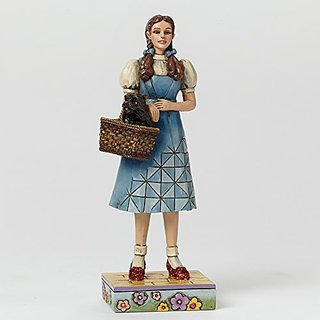 Jim Shore Wizard of Oz Pint Sized Dorothy with Basket Figurine 4044758