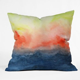DENY Designs Jacqueline Maldonado Brushfire Throw Pillow, 26 x 26