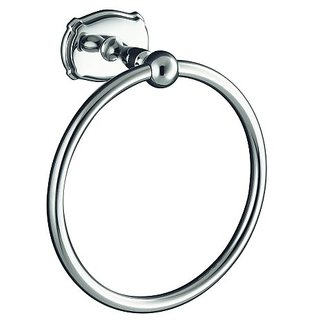 KOHLER K-10486-CP Portrait Towel Ring, Polished Chrome