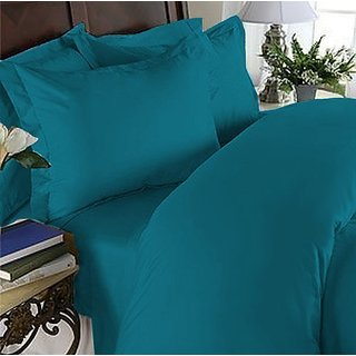 Elegant Comfort 1500 Thread Count Wrinkle Resistant Egyptian Quality Ultra Soft Luxurious 4-Piece Bed Sheet Set, Full, T