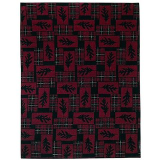 Woolrich 90158 LFB R 50 by 68-Inch Cedar Run Ii Throw